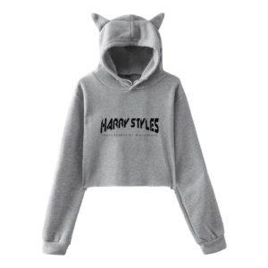 Harry Styles Cropped Hoodie #4