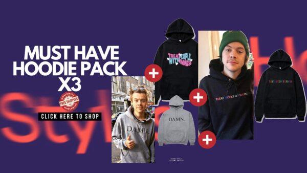 harry styles hoodie pack